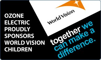 Ozone Electric proudly sponsors World Vision Children